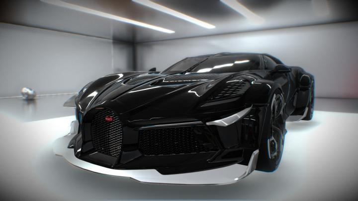 Trending mods today: Bugatti La Voiture Noire