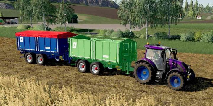 Trending mods today: Agroliner TKD 302 Used v1.0.0.0