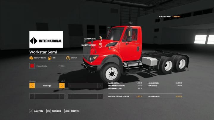 Trucks WorkStar Semi? v1.0.0.0