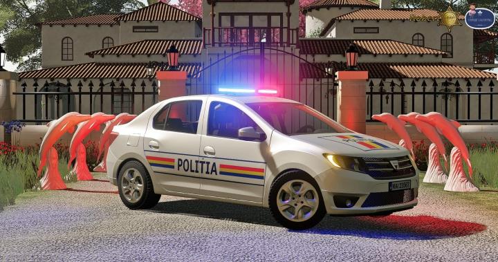 Trending mods today: Dacia Logan Politia 2019 v1.0