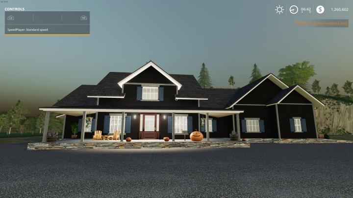 Trending mods today: FS19 Halloween House