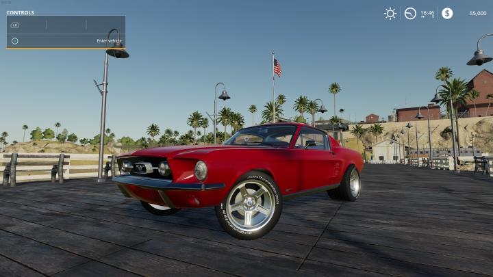 Trending mods today: FS19 1965 Mustang