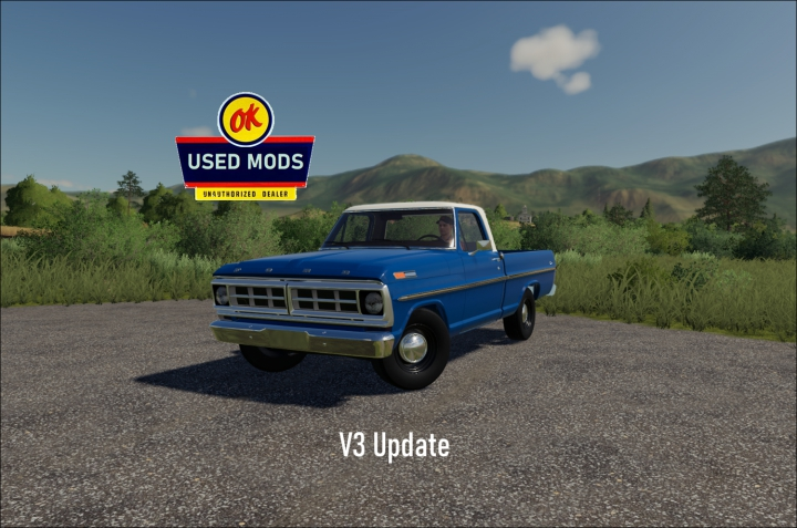 1971 Ford F100 Short Bed Truck V3 Two-Tone Update - By OKUSEDMODS category: Cars