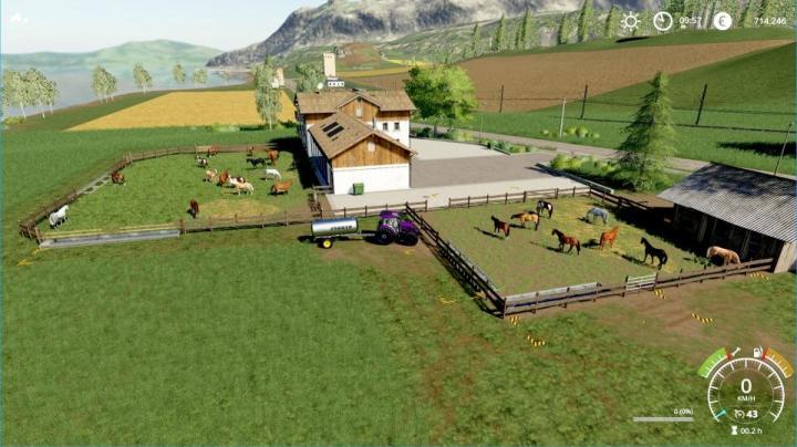 Trending mods today: Horse places for the HorseRanch in Felsbrunn v1.0.0.0