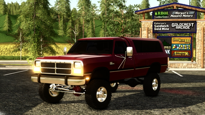 1992 Dodge D250  category: Cars
