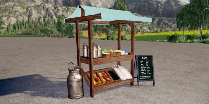 Market Stall v1.0.0.0 category: Objects
