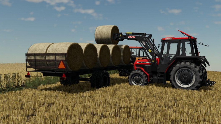 Lizard Bale Trailer v1.1.0.0 category: Trailers