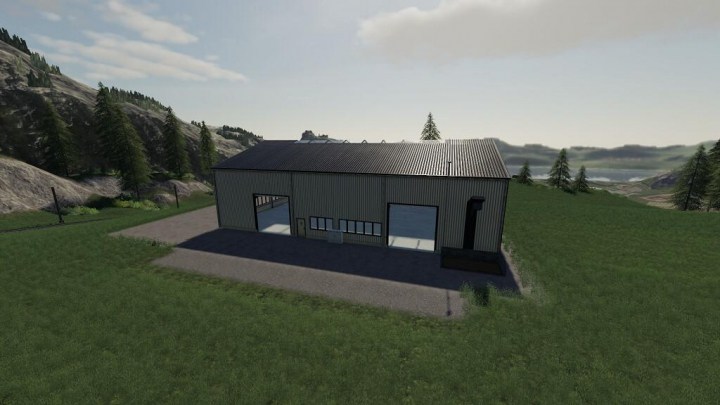 Pellet Storage House v1.0.0.1 category: Objects