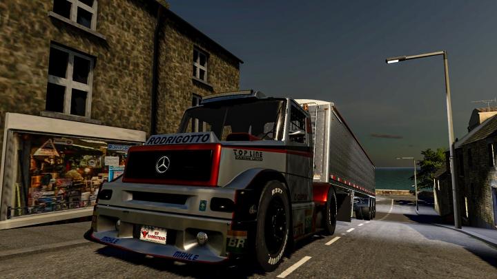 Trending mods today: Mercedes Benz Formula Truck