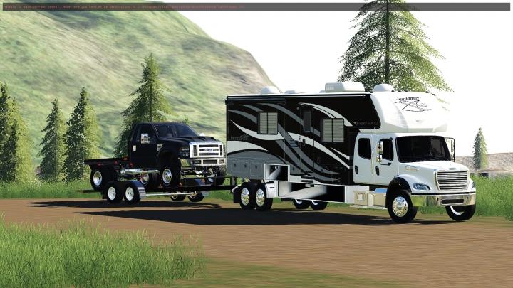 Trending mods today: Freightliner M2 Camper