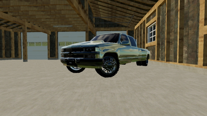 Trending mods today: Chevy 3500 Lowered V2