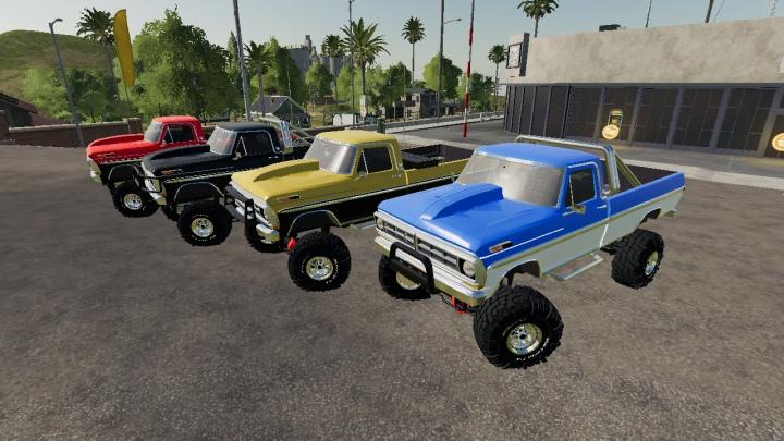 Trending mods today: '71 Ford F100 Custom