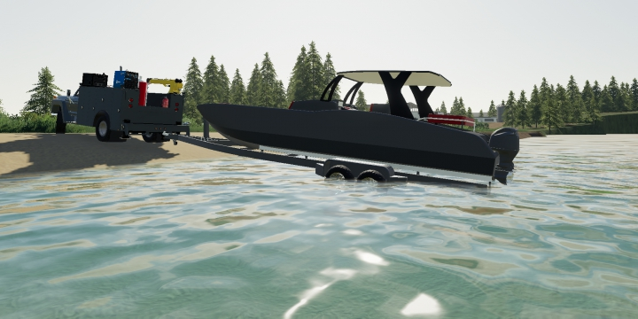 Trending mods today: Center Console Boat & Trailer