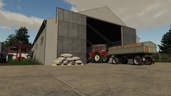 Trending mods today: Old Grain Storages Pack v1.0.0.0