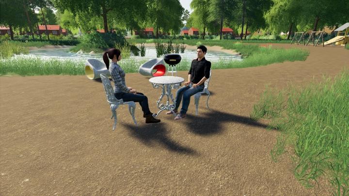 Trending mods today: Garden Furniture Set