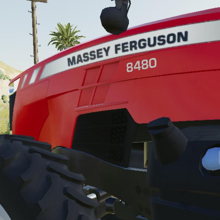 Trending mods today: Massey Ferguson 8400 V2