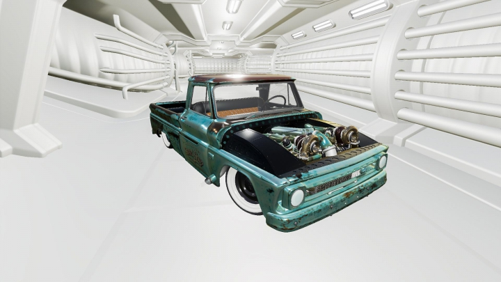 Trending mods today: Chevrolet C10 1966 Twin Turbo