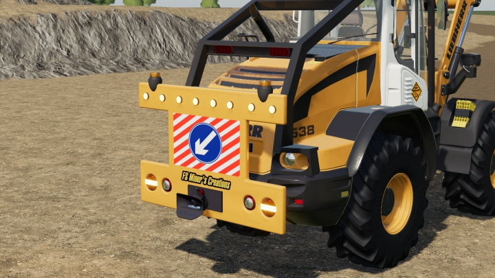 Trending mods today: Rear Warning Sign For Wheel Loaders