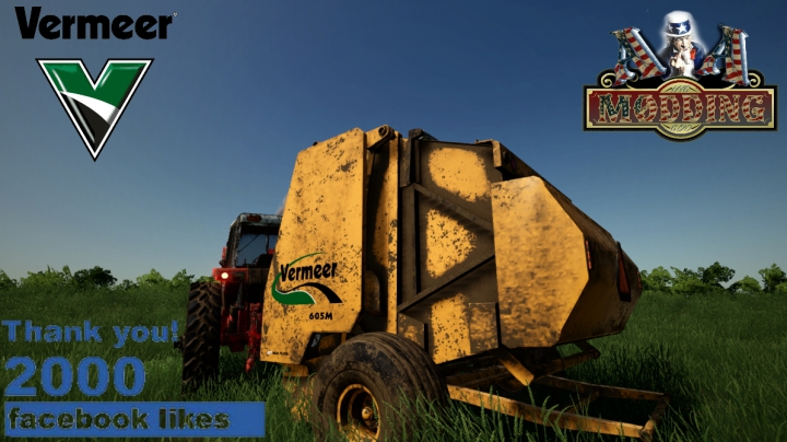 Trending mods today: Vermeer 605M/605N