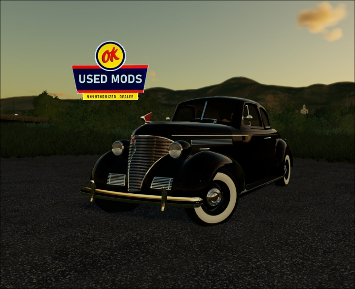 Trending mods today: 1939 Chevy Coupe - By OKUSEDMODS