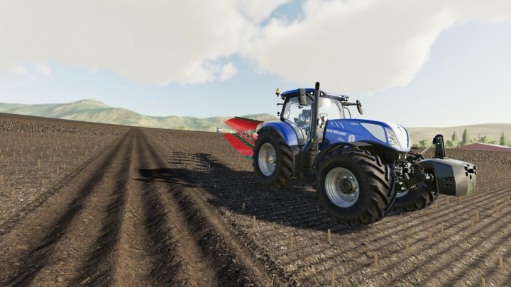 Trending mods today: New Holland T7 Series v1.1.0.0