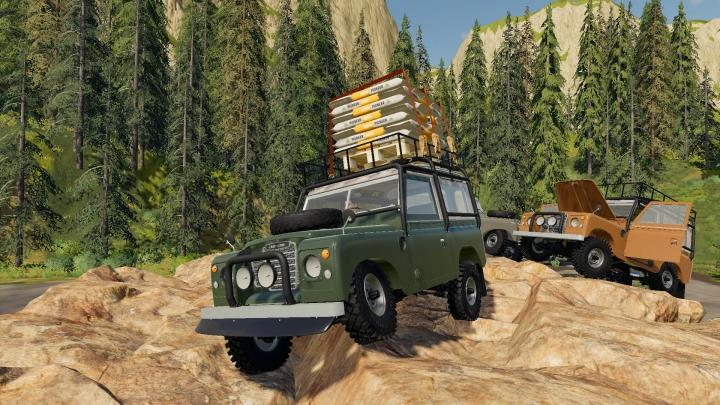 Trending mods today: Land Rover Series III