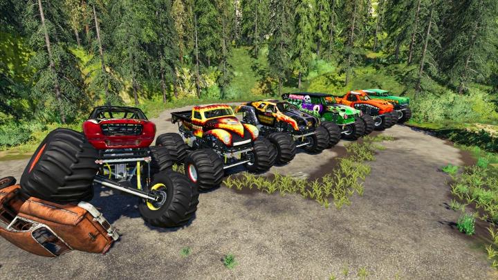 Trending mods today: Monster Truck Pack
