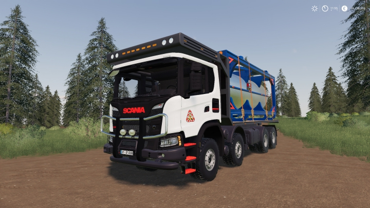 Trending mods today: Scania XT 8x8 Flat Bed