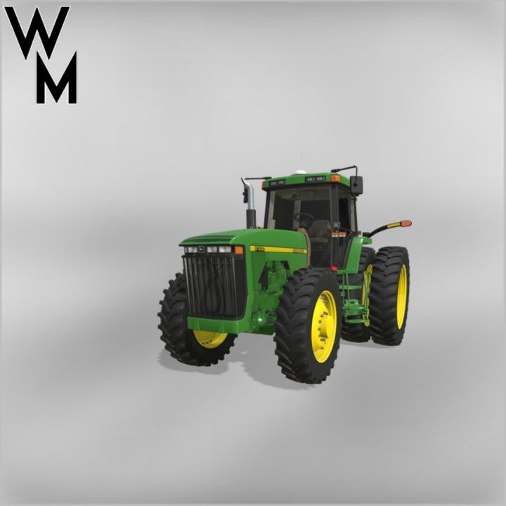Trending mods today: John Deere 8xx0 Tractors MFWD 2.0