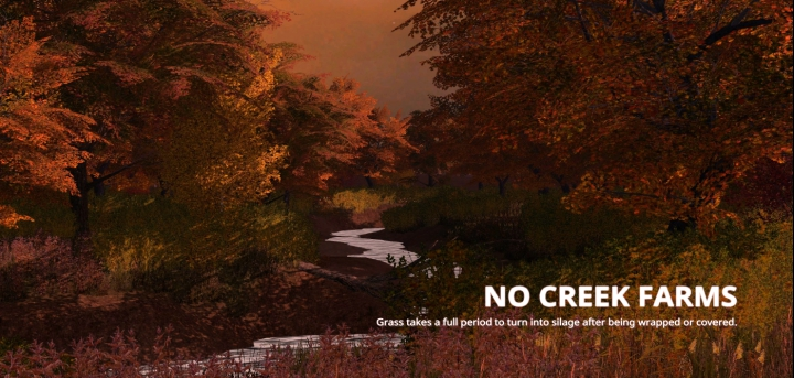 Trending mods today: No Creek Farms Version 1