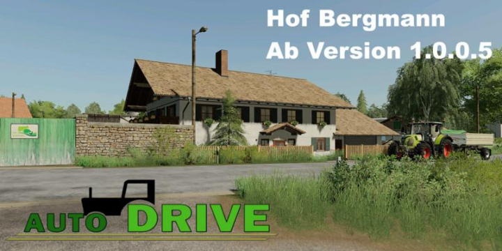 Trending mods today: AutoDrive route network Hof Bergmann from v1.0.0.5
