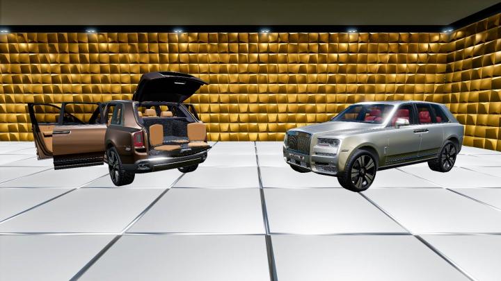 Trending mods today: Rolls Royce Cullinan 2019