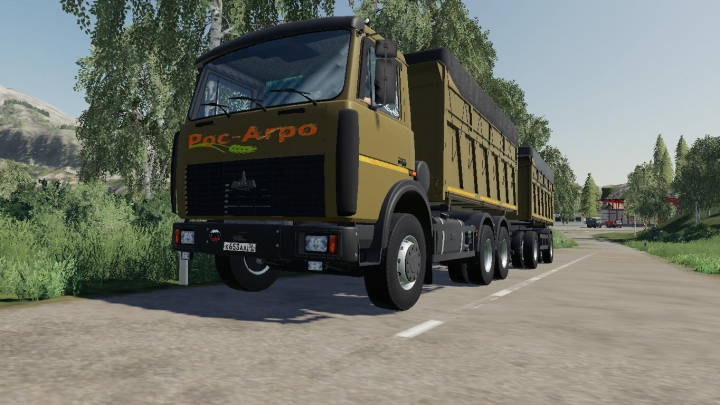 Trending mods today: MAZ 5516A2 + TRAILER MAZ 856101 v1.0.0.0