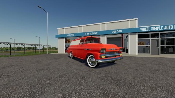 Trending mods today: fs19 '58 chevy apache panel van