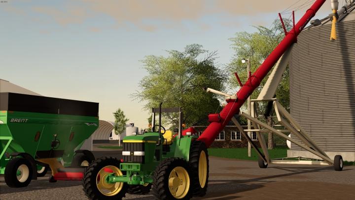Trending mods today: Farm King Swingout Auger