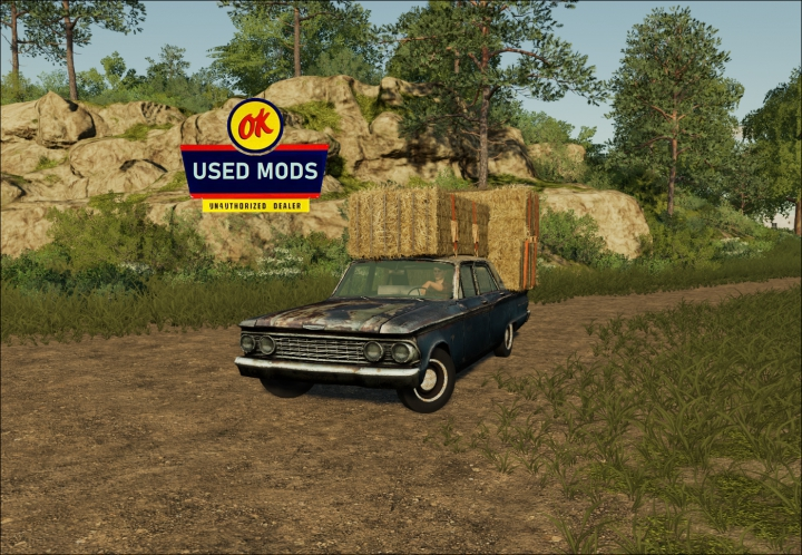 Trending mods today: 1962 Patina Princess - Drivable Rusty Car 2 - By OKUSED MODS