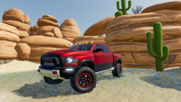 Trending mods today: Dodge Ram 1500 Rebel TRX Concept 2017