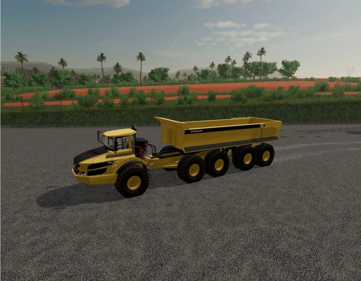 Trending mods today: Volvo A40G semi with Maxxim 700