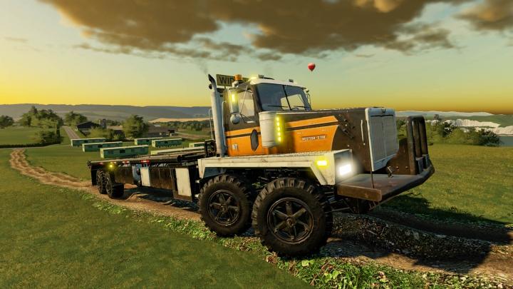 Trending mods today: Western Twin-Steer Truck