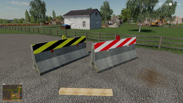 Trending mods today: Road Barrier Pack Final