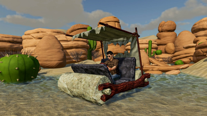 Trending mods today: Flintstone Car