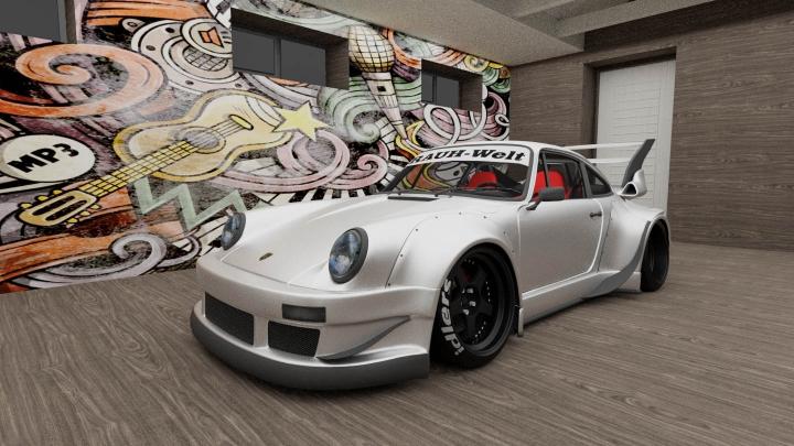 Trending mods today: Porsche 911 RAUH-WELT