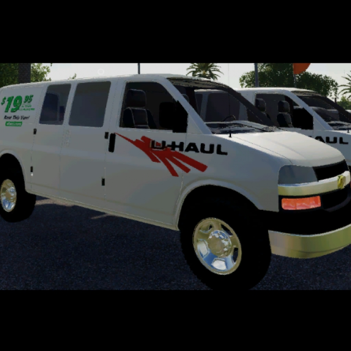 Trending mods today: Uhaul Chevy Express