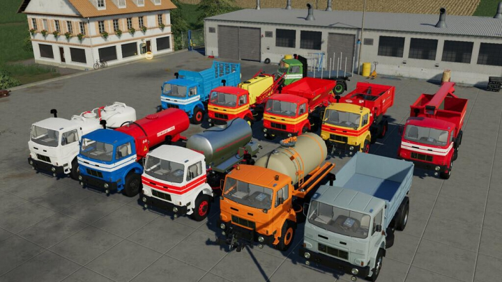 Trending mods today: D-754 Truck Pack v1.4.0.0