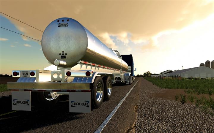 Trending mods today: Walker Food Grade Tanker Trailer