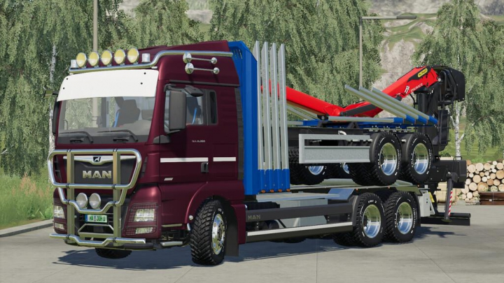 Trending mods today: MAN TGX Forest Special v1.0.0.0