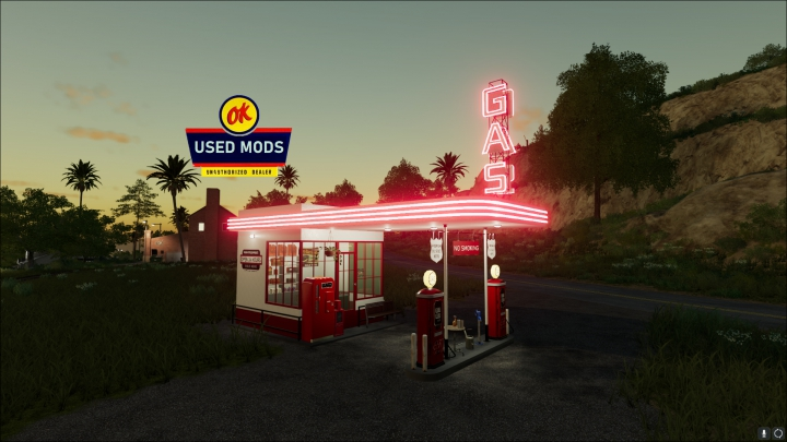 Trending mods today: Old Gas Station - By OKUSED MODS