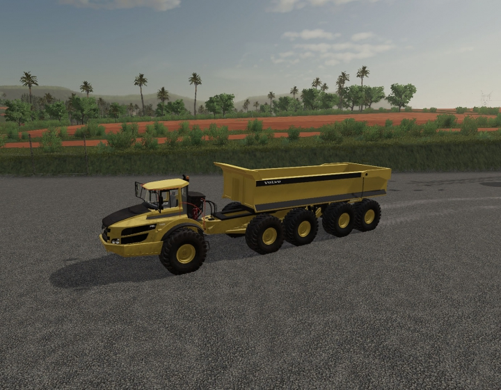 Trending mods today: Volvo A40G semi with Maxxim 700 v2