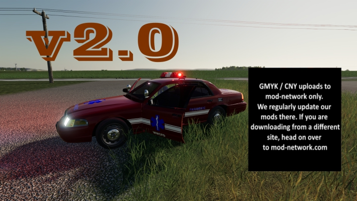 Trending mods today: Ford Crown Victoria Paramedic