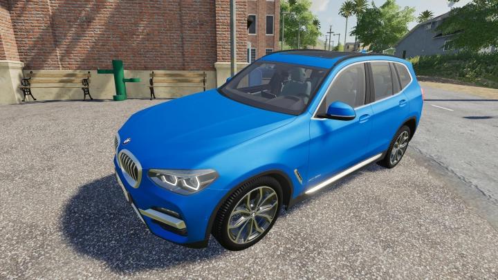 Trending mods today: FS19 BMW X3 2018 v1.1.0.0